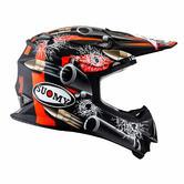 Suomy Mr Jump Bullet Motocross Helmet S Matt Black Orange