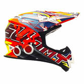 KSMJ0030 - Suomy Mr Jump Shots Motocross Helmet XL Orange