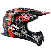 Suomy Helmet Mr Jump Bullet Motorcross Helmet XS Matt Black Orange