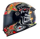 Suomy SR Sport Biaggi 2015 Full Face Motorcycle Helmet 2XL Replica