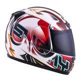 Suomy Apex Full Face Motorcycle Helmet S Red White Black