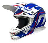 UFO Interceptor II Genix Motocross Helmet S White Blue Red