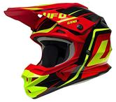 UFO Interceptor II Genix Motocross Helmet XL Black Red Yellow