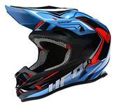 UFO Speeder Onyx Motocross Helmet XL Black Blue Red