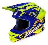 UFO Interceptor Sierra Motocross Helmet S Blue Green