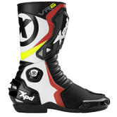 XPD VR6.2 Motorcycle Boots 46 Black White Red (UK 12)