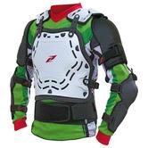 Zandona Spartakus Armoured Motocross Vest L White