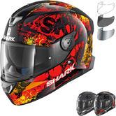 Shark Skwal 2 Nuk'hem Motorcycle Helmet & Visor