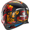 Shark Skwal 2 Nuk'hem Motorcycle Helmet & Visor Thumbnail 7