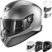 Shark Skwal 2 Blank Motorcycle Helmet & Visor