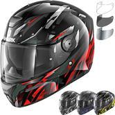 Shark D-Skwal Kanhji Motorcycle Helmet & Visor