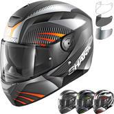 Shark D-Skwal Mercurium Motorcycle Helmet & Visor