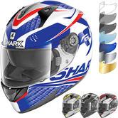Shark Ridill Stratom Motorcycle Helmet & Visor