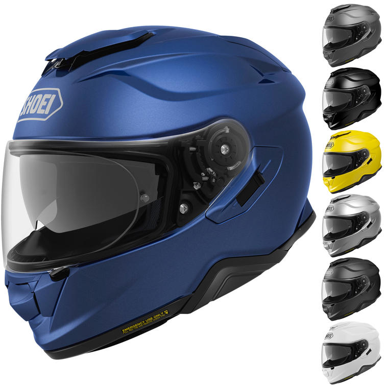 Shoei GT-Air 2 Plain Motorcycle Helmet