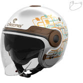 Caberg Uptown Lady Open Face Motorcycle Helmet & Visor