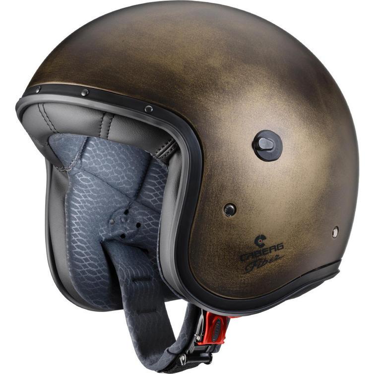 Caberg Freeride Bronze Brushed Open Face Motorcycle Helmet