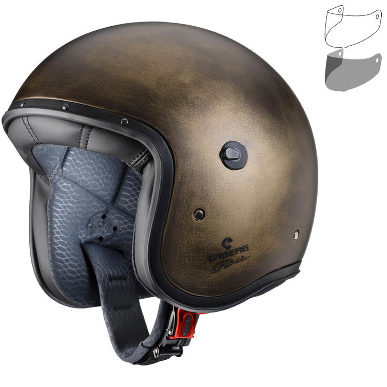 Caberg Freeride Bronze Brushed Open Face Motorcycle Helmet & Visor