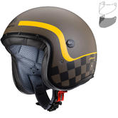Caberg Freeride Formula Open Face Motorcycle Helmet & Visor