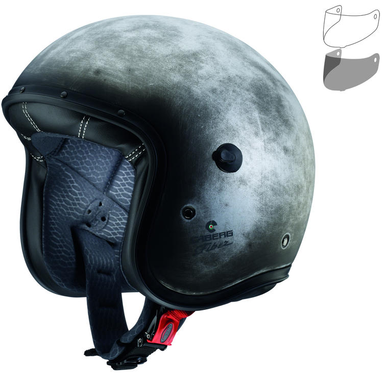 Caberg Freeride Iron Open Face Motorcycle Helmet & Visor
