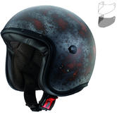 Caberg Freeride Rusty Open Face Motorcycle Helmet & Visor