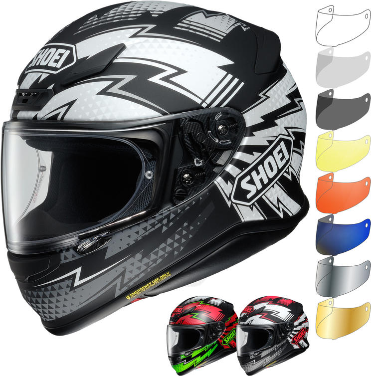Shoei NXR Variable Motorcycle Helmet & Visor