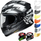 Shoei NXR Variable Motorcycle Helmet & Visor