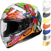 Shoei NXR Stimuli Motorcycle Helmet & Visor
