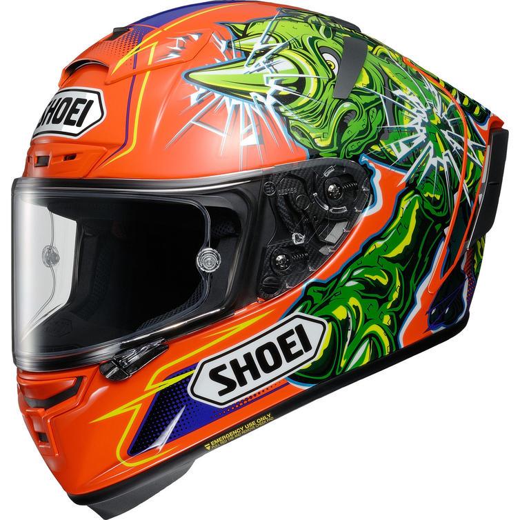 Shoei X-Spirit 3 Power Rush Motorcycle Helmet