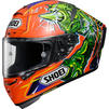 Shoei X-Spirit 3 Power Rush Motorcycle Helmet Thumbnail 3