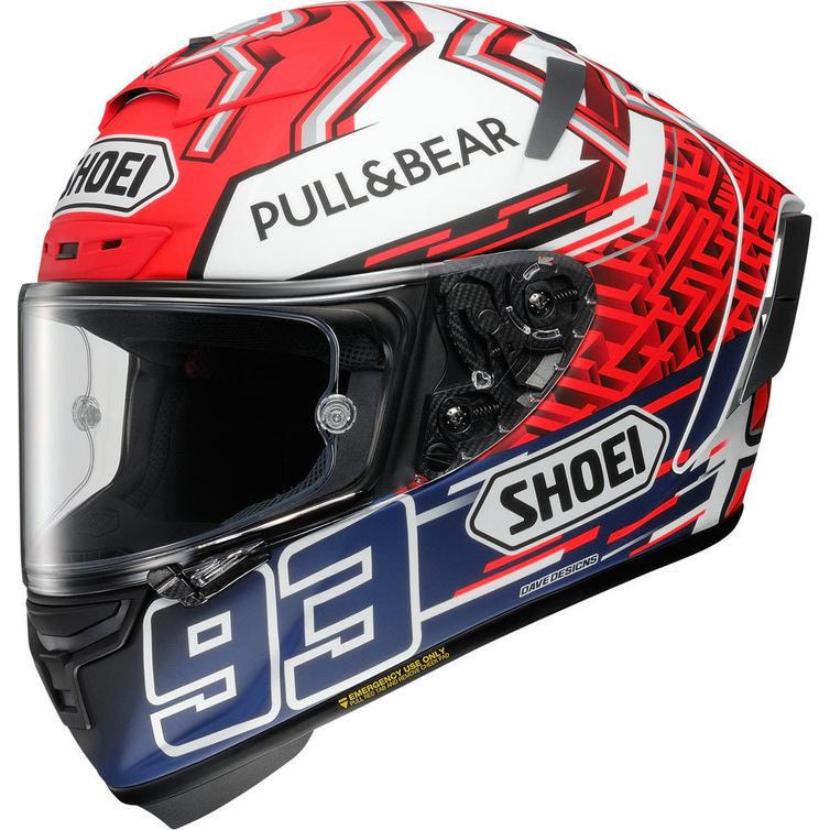 Shoei X-Spirit 3 Marquez 5 Motorcycle Helmet