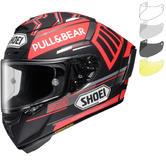 Shoei X-Spirit 3 Marquez Black Concept Motorcycle Helmet & Visor