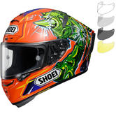 Shoei X-Spirit 3 Power Rush Motorcycle Helmet & Visor