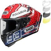 Shoei X-Spirit 3 Marquez 5 Motorcycle Helmet & Visor