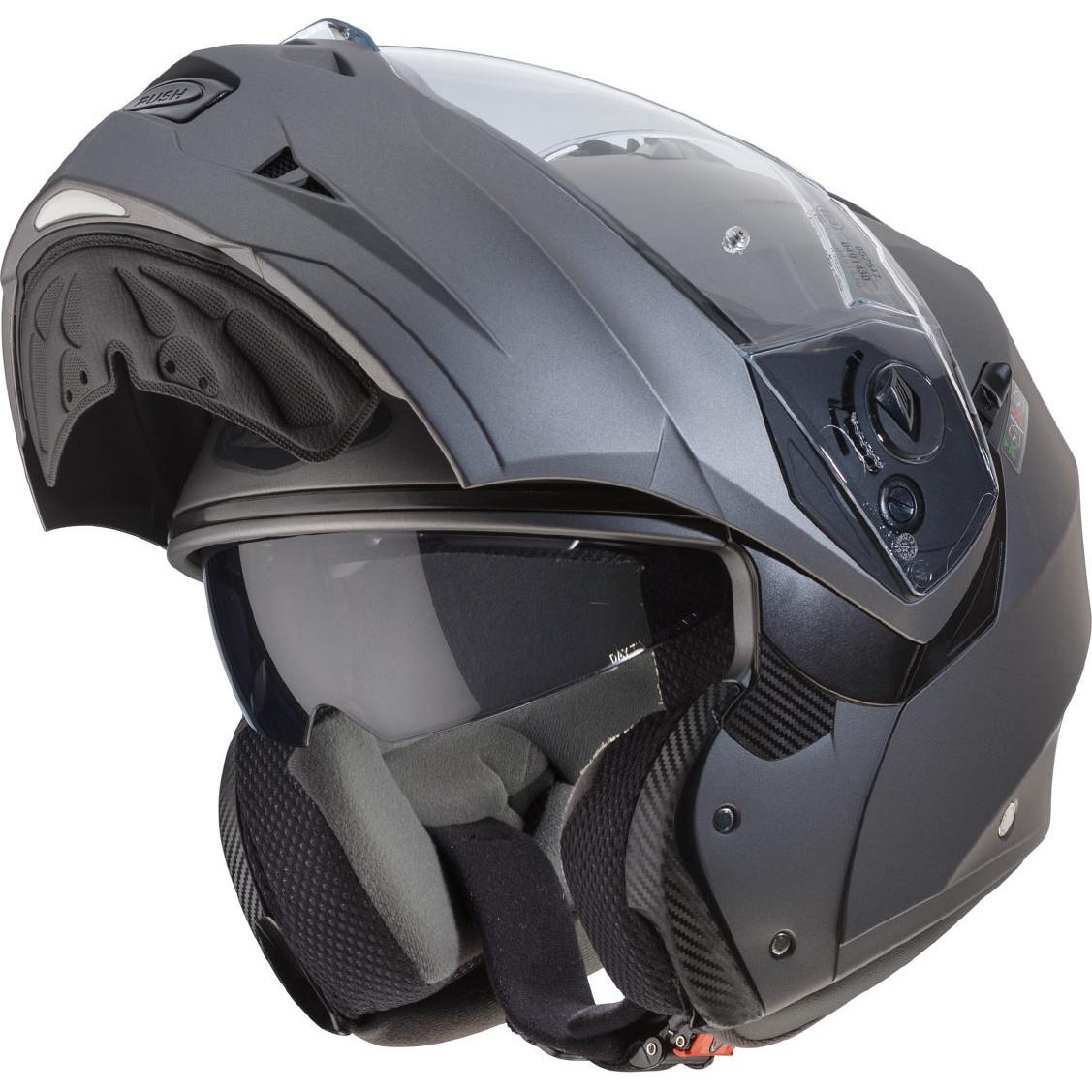 Caberg Duke II Flip Front Motorcycle Motorbike Helmet Sun Visor Bike