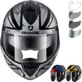 Shark Evoline Series 3 Tixer Flip Front Motorcycle Helmet & Visor