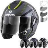 Shark Evoline Series 3 Hyrium Flip Front Motorcycle Helmet & Visor