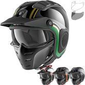 Shark X-Drak Hister Open Face Motorcycle Helmet & Visor