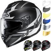 HJC C70 Troky Motorcycle Helmet & Visor