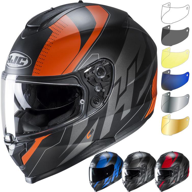 HJC C70 Boltas Motorcycle Helmet & Visor