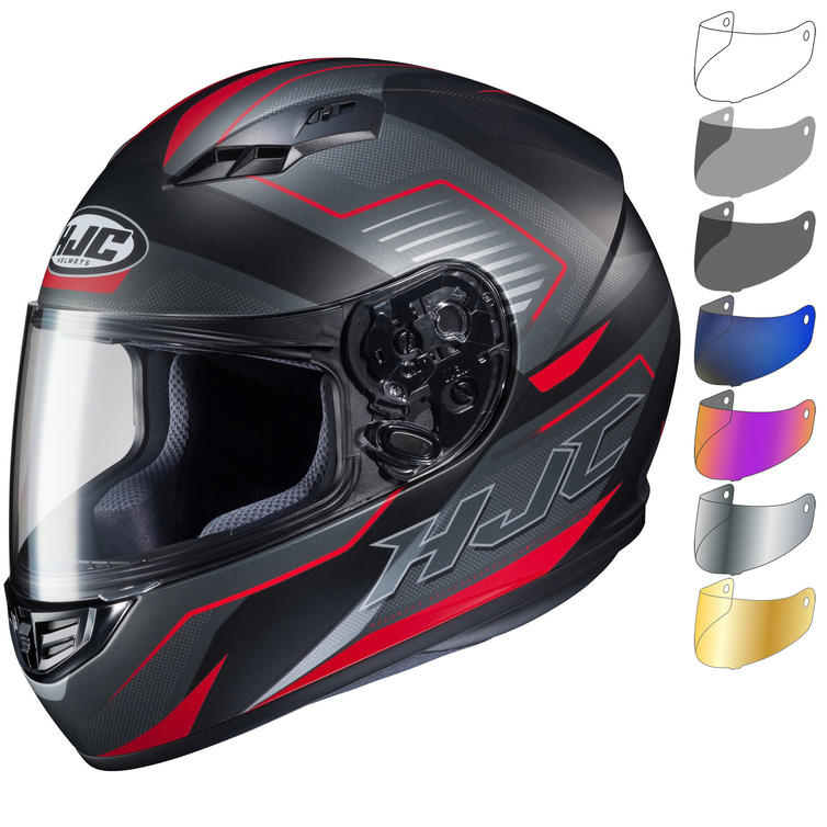 HJC CS-15 Trion Motorcycle Helmet & Visor