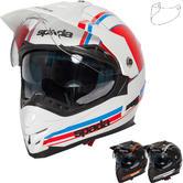 Spada Intrepid Delta Dual Sport Helmet & Visor