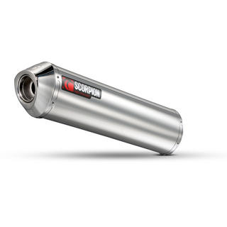 Scorpion Factory Stainless Oval Exhaust Ducati 1098 08>Current