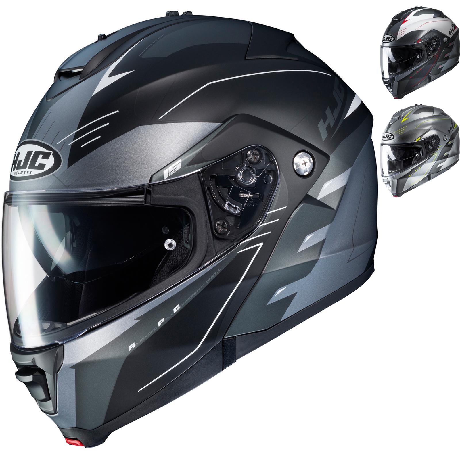 e9682af4 HJC IS-MAX II Cormi Flip Front Motorcycle Helmet Bike Crash Lid with ...