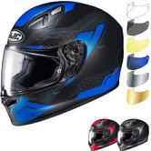 HJC FG-17 Talos Motorcycle Helmet & Visor