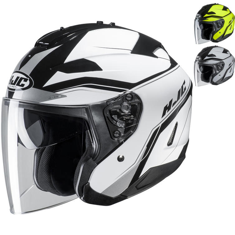 HJC IS-33 II Korba Open Face Motorcycle Helmet