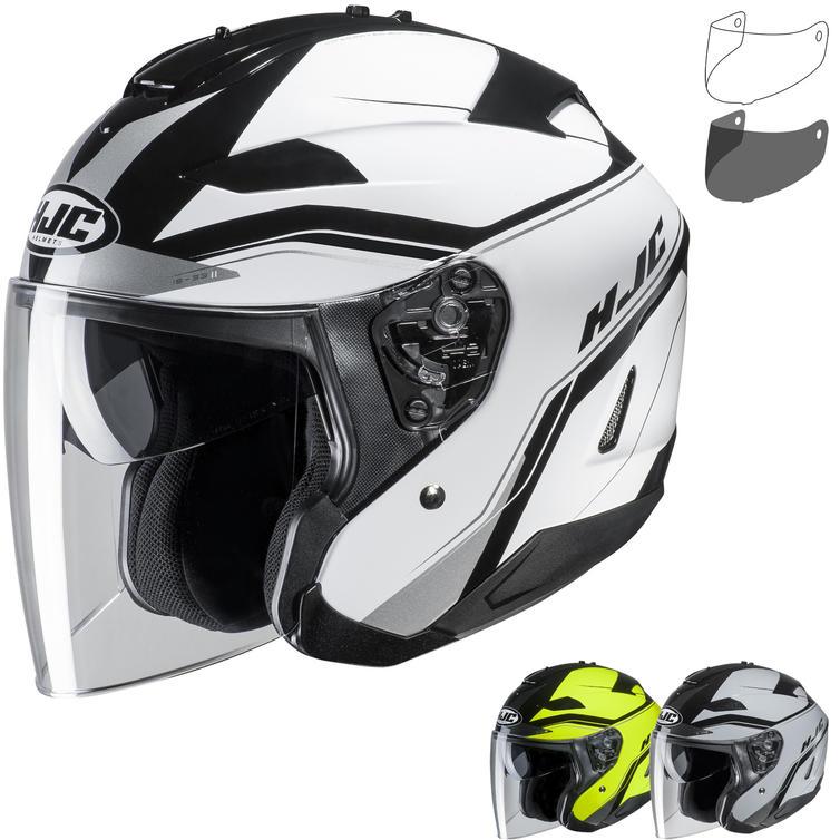 HJC IS-33 II Korba Open Face Motorcycle Helmet & Visor