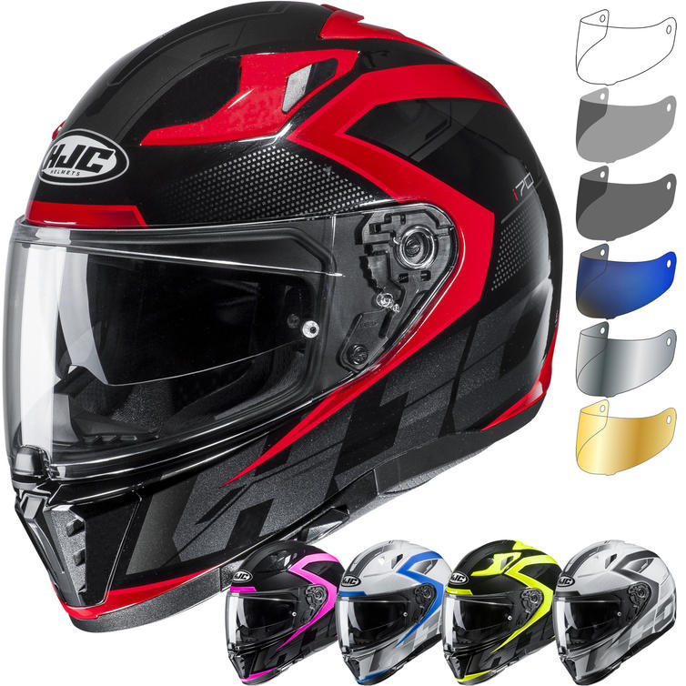 HJC I70 Asto Motorcycle Helmet & Visor