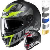 HJC I70 Rias Motorcycle Helmet & Visor
