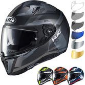HJC I70 Elim Motorcycle Helmet & Visor