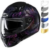 HJC I70 Varok Motorcycle Helmet & Visor